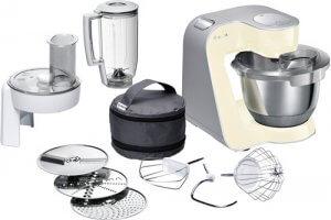 Knetmaschine Test vollausgestattete Küchenmaschine